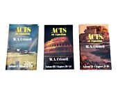 Acts An Exposition By W.a. Criswell 3 Volume Set Hc/dj