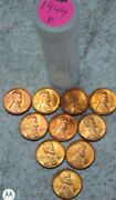 10 - 1944 P Uncirculated Lincoln Wheat Cent Pennies 2