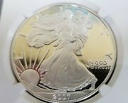 2007 W Proof American Silver Eagle 1 Ngc Pf 70 Ultra Cameo