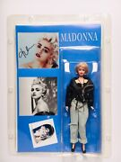 Madonna Signed Autograph Glossy Photo And Collectible Figure Andnbsploa