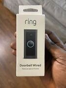 Ring Video Doorbell Wired - New