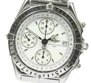 Breitling Chronomat Longitude A20048 White Dial Automatic Menand039s Watch_611321