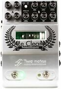 Two Notes Le Clean 2-channel U.s. Tones Tube Preamp Ped... 5-pack Value Bundle
