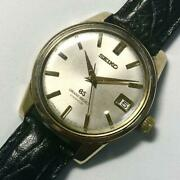 Seiko 1968 Hand-winding 57gs Manual Winding Cup Gold Grand Grand Watch Sk-951
