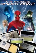 Spider-man / Stan Lee Storyboards Production Used
