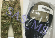 Multicam Flame Resistant Army Combat Pants W/crye Precision Knee Pad Cut Ml Nwt