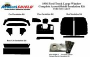 1956 Ford Large Window Truck Complete Acoustic Insulation Kit