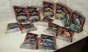 Disney Pixar Cars Lot Of 13 Supercharged Dj The King Hamm Lizzie New Boxes