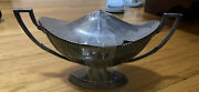 Je Caldwell Sterling Silver Covered Dish Butter Sugar Gravy Rare