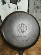 Fully Restored Griswold Cast Iron 9 Skillet Pan Small Block 11 Seasoned