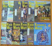 Vintage 1975 Runner's World Magazine Complete Lot 12 Mos., Special Shoe Issue