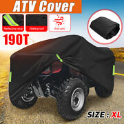 Xl Atv Cover Waterproof Uv Snow Dust Resistant All Weather Protection Universal
