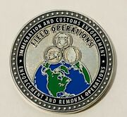 Sought After-unique-field Operations-homeland Security Challenge Coin