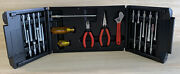 Xcelite Master Tool Set 99smxn Nut Driver Screwdriver Wrench Snips Pliers W Case