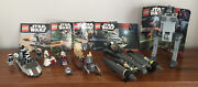 Five Lego Star Wars Sets - 7654 7655 7656 7657 7668 - With Manuals