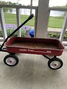 Vintage Used Radio Flyer 9a All American Classic Red Wagon