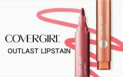 Covergirl Outlast Lipstain New And Sealed Pick Your Color