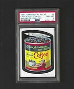 Wacky Packages 1967 Die Cut 5 Chock Full O Nuts Psa 8 Ultra Rare Variation