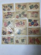Stamp Collections For Sale 15 Envelopes