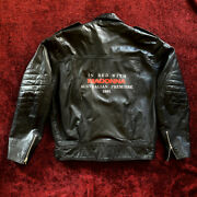 Madonna Truth Or Dare Australia Premiere Leather Bike Jacket Promo In Bed With