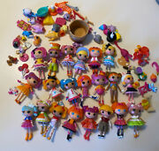 Lalaloopsy Mini Doll 3 Figures Lot Of 21 And Lots Of Accessories