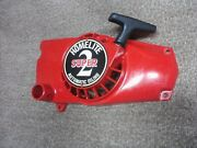 Homelite Super2 Super 2 Chainsaw Recoil Pull Starter - Works Great