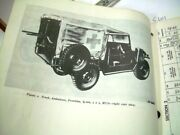 Willys Jeep 1968 Army Utility Truck Technical Manual Repair Tools Parts Maintain