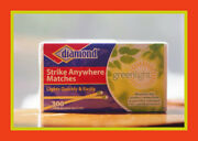 Diamond Strike Matches Anywhere 3 Pack 900 Matches Total New