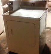 Whirlpool Heavy Duty Coin Operated White Natural Gas Dryer