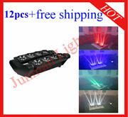 810w Rgbw 4 In 1 Led Beam Spider Effect Disco Light 12pcs Free Shipping
