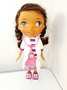 Disney Just Play Doc Mcstuffins Doll Talking Doctor White Coat And Stethoscope