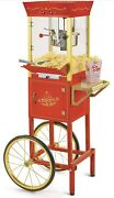 Nostalgia Vintage 53in. Popcorn Cart-new 8-ounce Kettle A M17