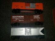 Lionel 9711 Southern, 9705 D And Rgw, 9730 Cp Rail Box Cars