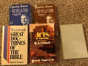 5 Book W.a. Criswell Lot - Expository Sermons Revelation - Acts/doctrines.. Hc
