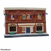 Hawthorne Welcome To Mayberry Village Post Office W/ Christmas Lights 2207 A