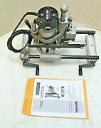 Porter Cable 513 Heavy-duty Lock Mortiser W/ Bit And Manual 100 Tested