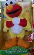 Sesame Street 2001 Chicken Dance Elmo By Fisher Price - Sings And Flaps His Wings