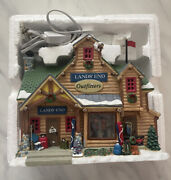 Lemax Christmas Village Lands End Outfitters Store - Sears Exclusive - Rare Euc