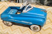 Murray Champion Jet Flow Drive Pressed Steel Vintage Pedal Car 1950and039s