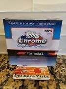 2020 Topps Chrome F1 Sapphire Edition Box Factory Sealed In Hand And Ready To Ship