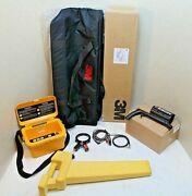 3m Dynatel 2273 Cable/pipe/fault Locator Set W/ New Carrying Case 100 Tested