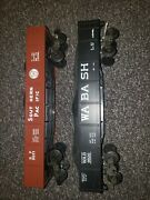 Lionel 9820 Wabash, And 9821 Southern Pacific Gondola