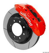 Wilwood Tx6r Front Kit 16.00in Red W/lines 2014+ For Ram 2500/3500 2wd/4wd - 140