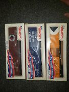 Lionel 9208 Cp Rail, 9205 Norfork And Western, 9214 Northern Pacific Box Cars