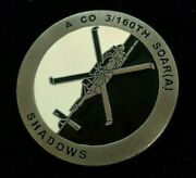 Rare Special Operations Shadows 160th Soar 3rd Bn A-co Challenge Coin