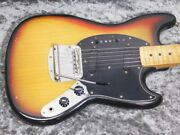Used Fender Mustang And03977 Sbm Guitar Mds657