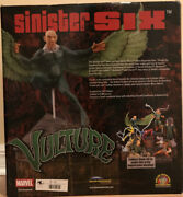 Very Rare New Vulture Statue Diamond Select Sinister Six Set 572 Of 2500