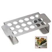 Large 18 Holes Jalapeno Non-stick Coating Chili Pepper Grill Rack With Handle