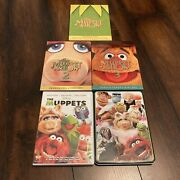 The Muppet Show Season 1-3 Dvd Box Set Lot And Muppets Movie Activity Pencil Set