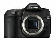 Canon Eos 60d 18.0 Mp Digital Slr Camera - Black Body Only Working T1556